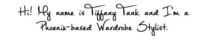 Tiffany Tank | Wardrobe Stylist