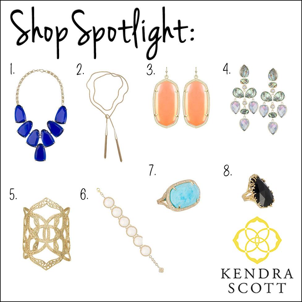 Shop Spotlight: Kendra Scott | Tiffany Tank